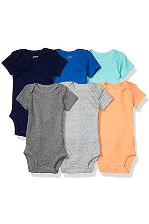 Simple Joys by Carter's 6-pack Short-sleeve Bodysuit Shirt