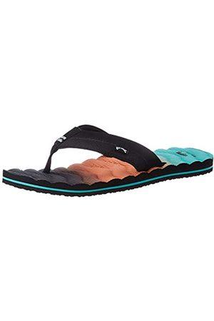 Billabong Men's Dunes Fade Flip Flops, (Aqua 804)