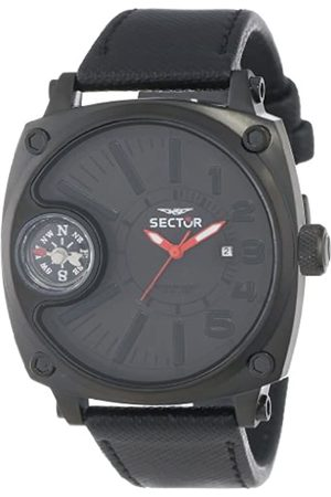 Sector Men's Quartz Watch with Dial Analogue Display and Leather Strap R3251207003