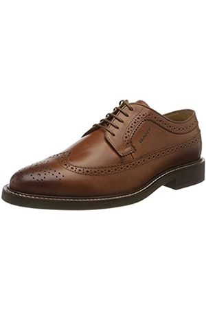 GANT Men's St Akron Oxfords, (Cognac G45)