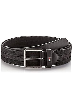Tommy Hilfiger Men's Urban Denton Webbing Elastic 3.5 Belt