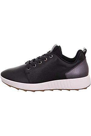 Legero Women's Essence Low-Top Sneakers, (Schwarz (Schwarz) 01)
