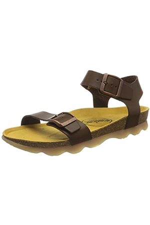 Fischer Boys' Hawaii Closed Toe Sandals, (Braun 777)