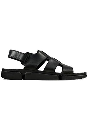 Clarks Men's Tri Cove Sky Gladiator Sandals, ( Leather Leather)