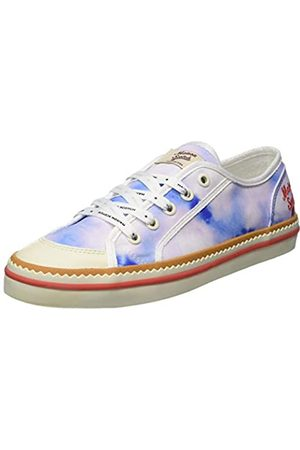 SCOTCH & SODA FOOTWEAR Women's Melli Low-Top Sneakers, (Watercolour S686)