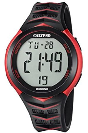 Calypso Mens Digital Quartz Watch with Plastic Strap K5730/3