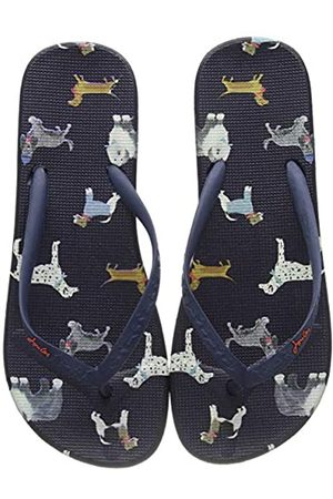 Joules Women's Flip Flops, (Mayday Dogs Maydaydogs)