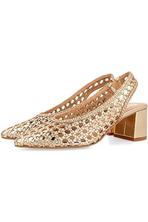 Gioseppo Women's Canadice Closed Toe Heels, (Oro Oro)