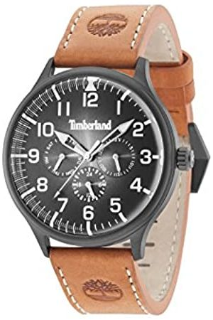 Timberland Mens Multi dial Quartz Watch with Leather Strap 15270JSB/02