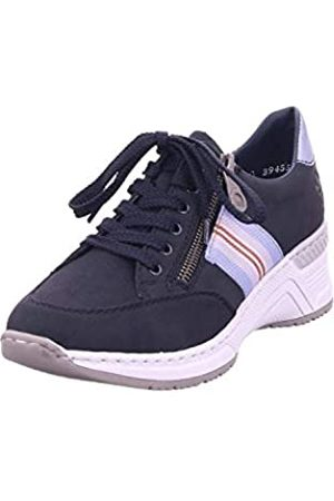 Rieker Women's Frühjahr/Sommer Low-Top Sneakers, (Pazifik/Sky 14)