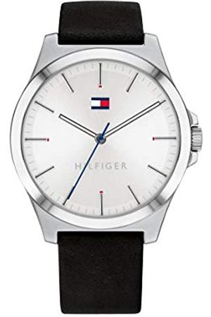 Tommy Hilfiger Men's Analogue Quartz Watch with Leather Strap 1791716
