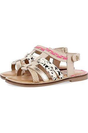 Gioseppo Girls' Simi Open Toe Sandals, (Beig Beig)