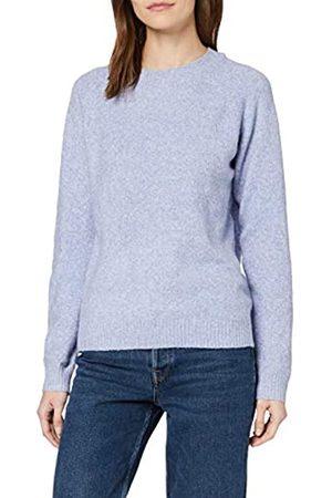 Vero Moda Women's Vmdoffy Ls O-Neck Blouse Ga Noos Pullover Sweater