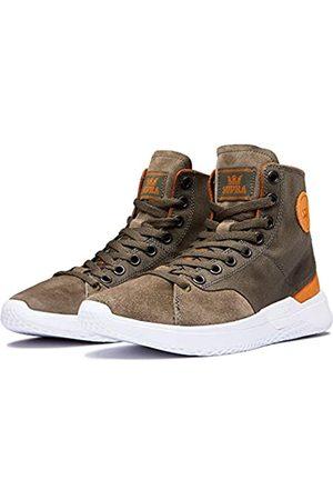 Supra Unisex Adults' Statik Skateboarding Shoes, (Olive/Veg-TAN-M 371)
