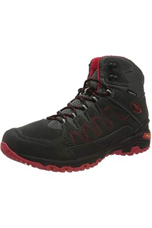 Bruetting Unisex Adults' Mount Nansen High Rise Hiking Shoes, (Anthrazit/Rot Anthrazit/Rot)