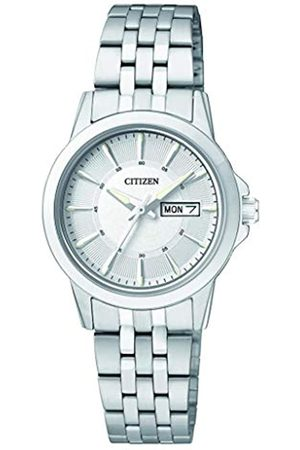 Citizen Womens Analogue Quartz Watch with Stainless Steel Strap EQ0601-54AE