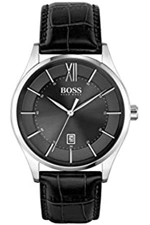 HUGO BOSS Men's Analogue Quartz Watch with Leather Strap 1513794