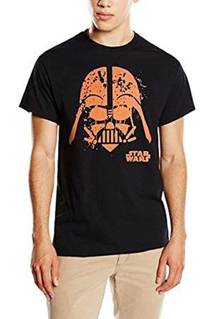 STAR WARS Men's Halloween Darth Vader Face T-Shirt