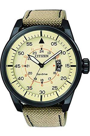 Citizen Men's Wristwatch Analog Nylon Quartz AW1365-19P