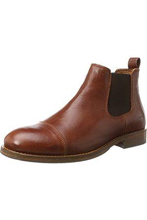 TEN POINTS Men's Oskar Chelsea Boots, Braun (Rust)