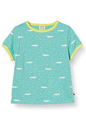 loud + proud Girl's T-Shirt Allover Print Organic Cotton