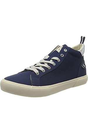 Joules Women's Coast Pump Mid Hi-Top Trainers, (French Navy Frnavy)