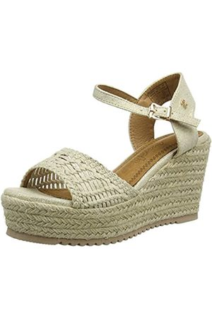 Refresh Women's 69680 Platform Sandals, (Oro Oro)