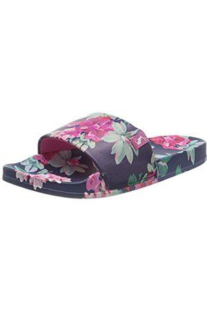 Joules Women's Poolside Open Toe Sandals, ( Floral Blueflrl)