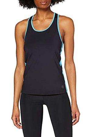 AURIQUE BAL1194 Gym Tops for Women, (Deep Well/Maui )