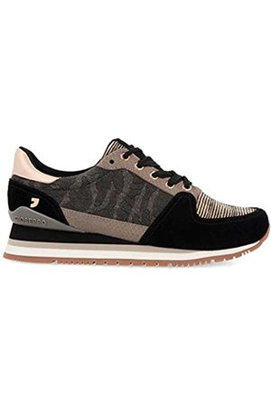 Gioseppo Women's Lisle Low-Top Sneakers, (Negro Negro)