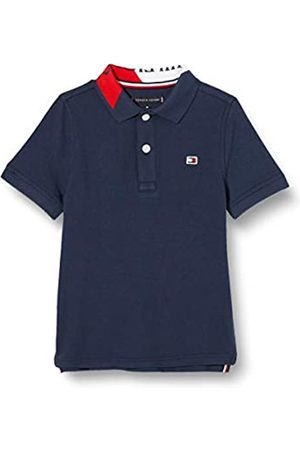 Tommy Hilfiger Boy's Intarsia Collar Polo S/S Shirt