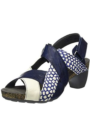 Think! Women's 686579_Traudi Sling Back Sandals, (Indigo/Kombi 90)