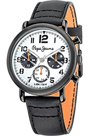 Pepe Jeans Steve Men's Quartz Watch with Dial Analogue Display and Plated Stainless Steel Strap R2351108004