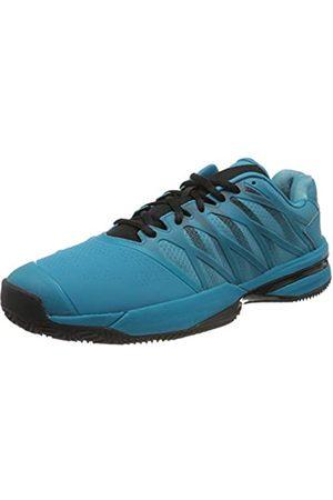 K-Swiss Men's Zapatilla Ultrashot 2 Hb Tennis Shoe, Algrsblu/Blk/Soft Neon Og