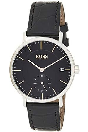 Hugo Boss Mens Analogue Classic Quartz Watch with Leather Strap 1513638