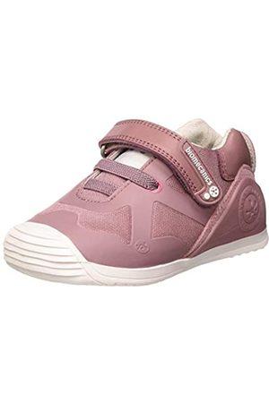 Biomecanics Baby Girls' 191168-2 Open Back Slippers, (Malva (REJILLA) B)