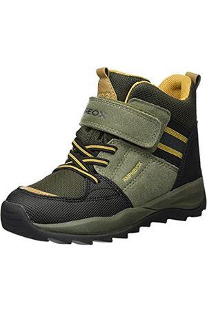 Geox Boys' J Orizont ABX B Snow Boots, (Military/dk )
