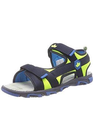 Lico Men's Palau V Sling Back Sandals, Marine/ /Lemon