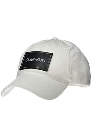 Calvin Klein Men's Leather Patch BB Cap Baseball