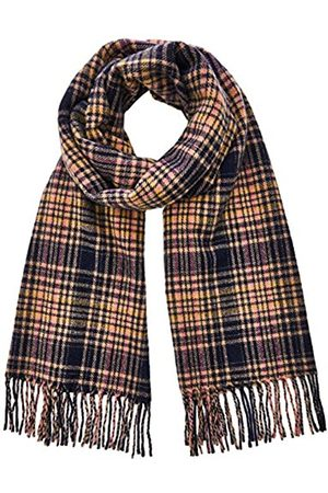 Scotch & Soda Men's Classic Woven Check Scarf In Wool-blend Quality