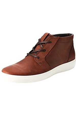 ECCO Men's Soft 7 M Hi-Top Trainers, (Brandy 2280)
