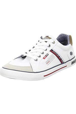 Dockers Men's 46bx002-710500 Low-Top Sneakers, (Weiss 500)