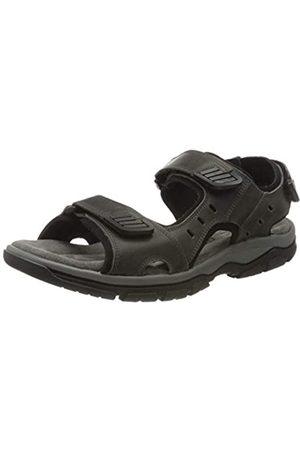 Rohde Men's Cortina Platform Sandals, (Graphite 83)