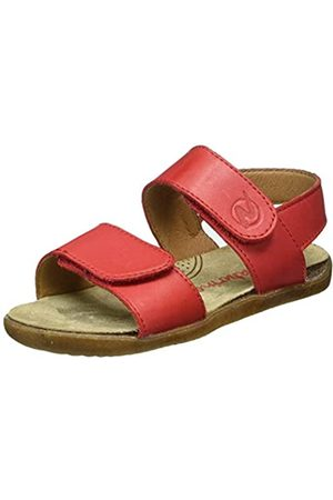 Naturino Girls Colm Open Toe Sandals, (Rosso 0H05)