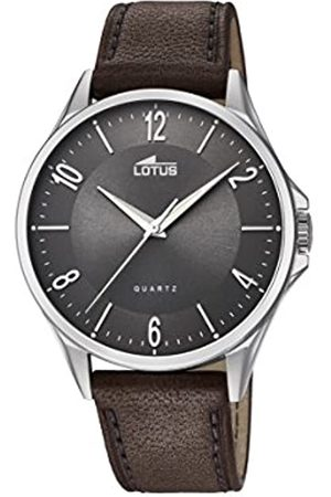 Lotus Watches Mens Analogue Classic Quartz Watch with Leather Strap 18518/2