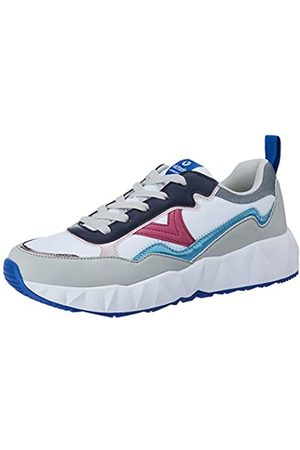 victoria Unisex Adults' Arista Nylon Multicolor Trainers, (Blanco 20)