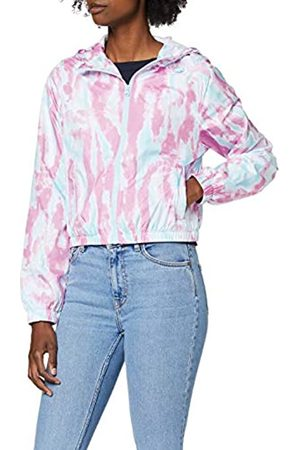 Urban classics Women's Jacke Ladies Tie Dye Windbreaker Jacket