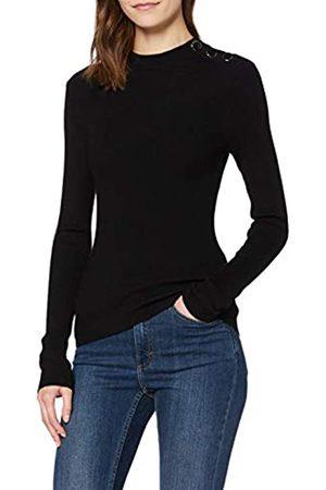 New Look Women's OP FG BUTTON STAND NECK Sweater