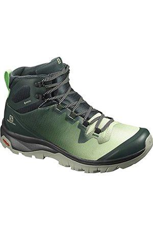 Salomon Women's Vaya Hiking Shoes, Multicolor ( Gables/Spruce Stone/Shadow)