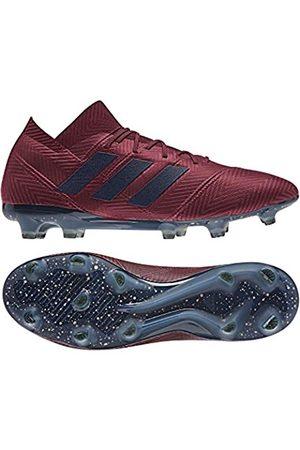adidas Men's Nemeziz 18.1 Fg Football Boots, (Granat/Tinley/Buruni 000)